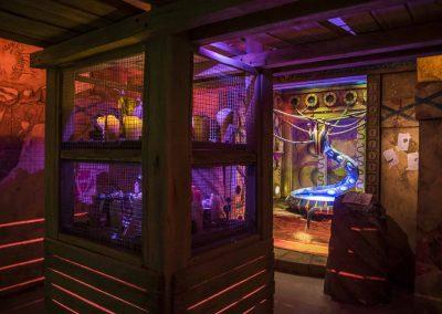 Chamber 1 at Cobra's Curse at Busch Gardens Tampa.