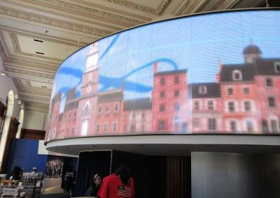 Liberty 360 Lobby at the Historic Philadelphia Center in Philadelphia.