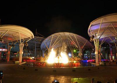 Lake of Dreams at Resorts World Sentosa in Singapore comes to life!