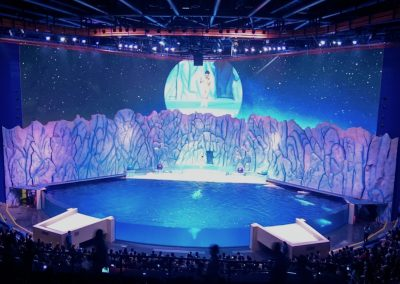 Under The Polar Moon at Chimelong Ocean Kingdom in Hengqin, Zhuhai, China